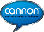 Logo Cannon Social Media Solutions | Social Media Training | Training for Social Media | Social Media Speaking | Simple Social Media  | Social Media Marketing | Social Media Consulting |